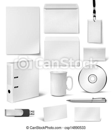voorbeelden, collectief, visueel, ontwerp, identiteit - csp14890533