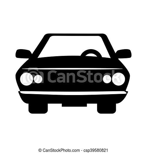 voorkant auto voertuig aanzicht vervoer auto