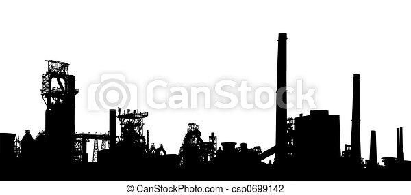 Industrie Vordergrund - csp0699142