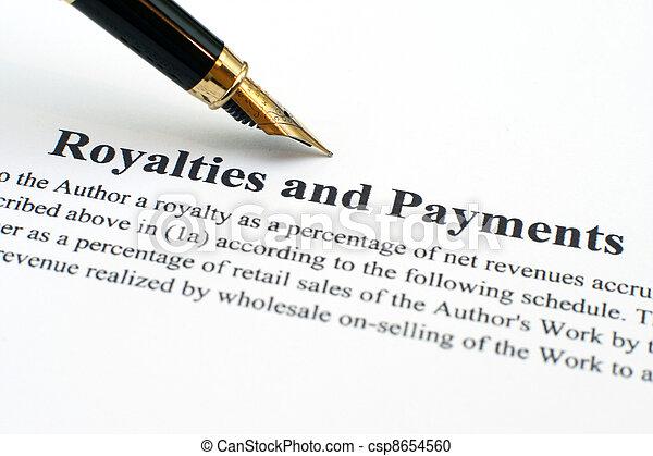 vorstendommen, betalingen - csp8654560