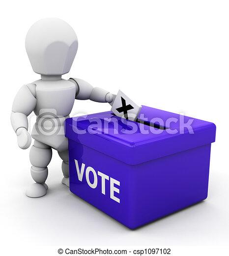 Votando - csp1097102