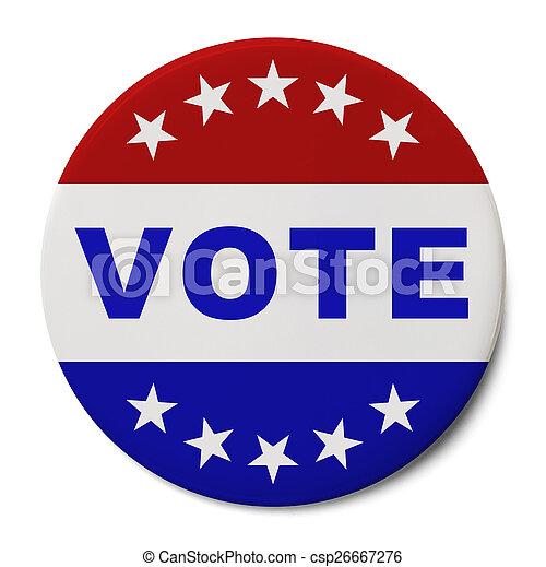 Vote Button - csp26667276