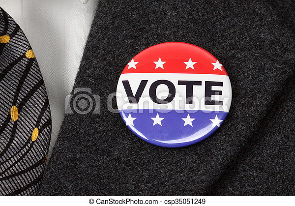 Vote button - csp35051249