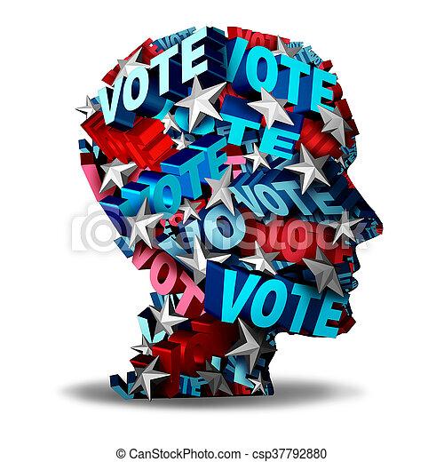 Vote Concept - csp37792880