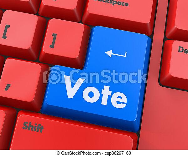 vote - csp36297160