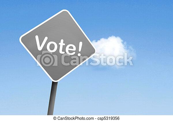 Vote - csp5319356