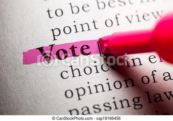 vote - csp19166456