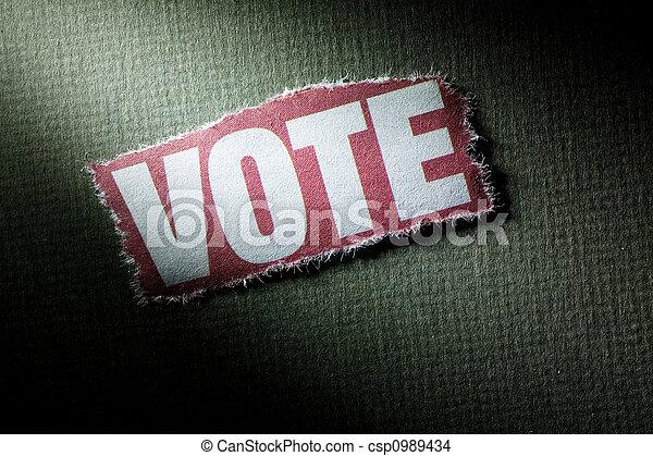 Vote - csp0989434