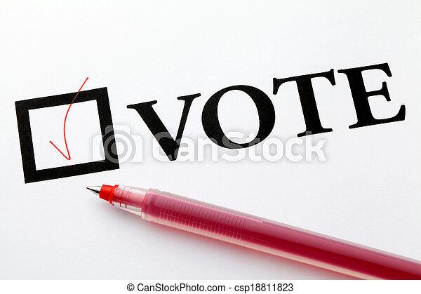 Vote - csp18811823
