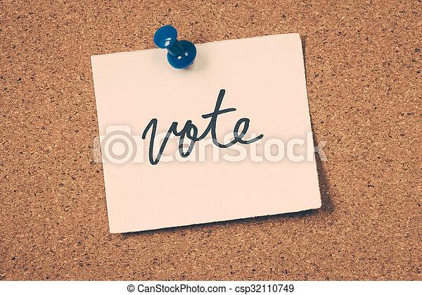 vote - csp32110749