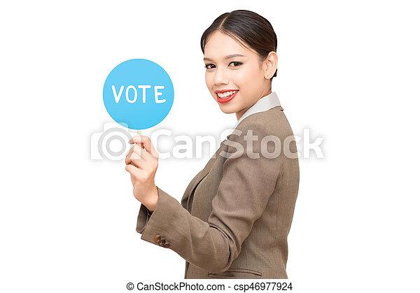 vote - csp46977924