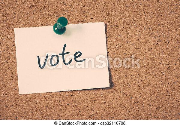 vote - csp32110708