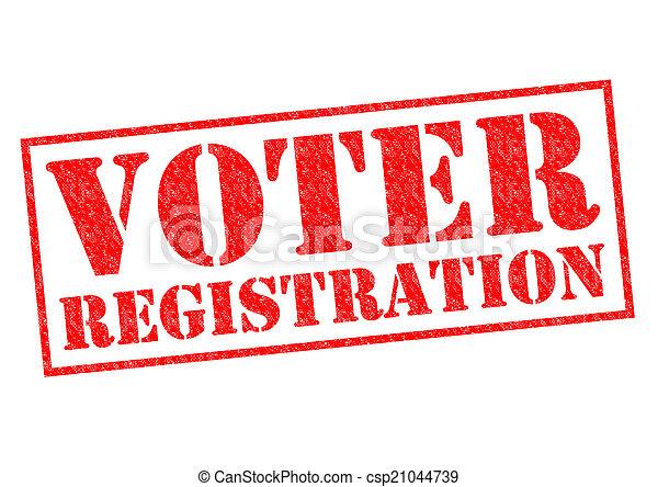 VOTER REGISTRATION - csp21044739