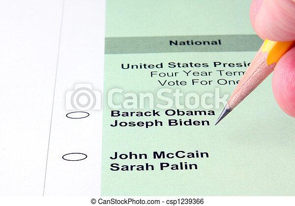 Voting - csp1239366