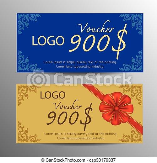 Voucher design template - csp30179337