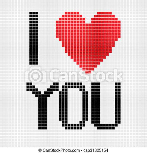 Pixel Art Pour Son Amoureux