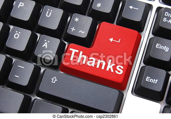 vous, remercier - csp2302861