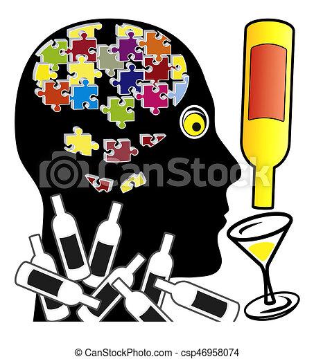 Pourquoi perte mémoire alcool