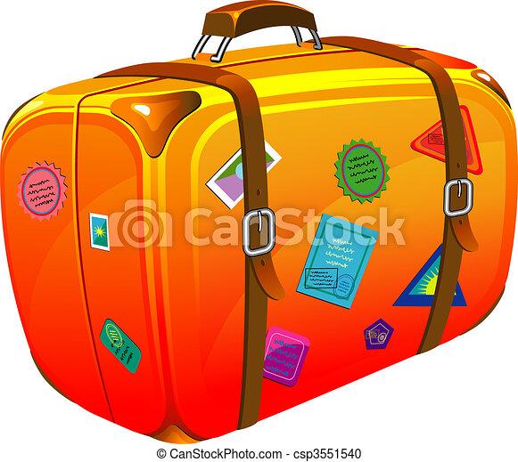 Voyage autocollants valise stickers illustration 8 - Dessin de valise ...