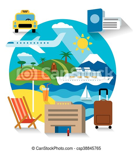 voyage, mer, croisière - csp38845765