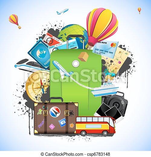 voyage, paquet - csp6783148