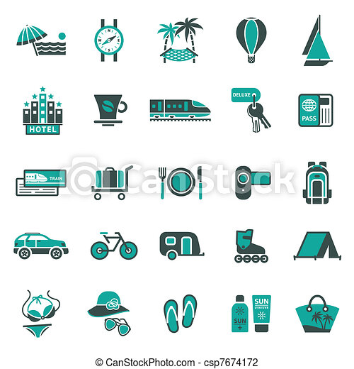 voyage, signs., récréation - csp7674172