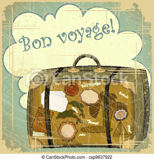 voyage, valise - csp9637922