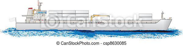 vrachtschip - csp8630085