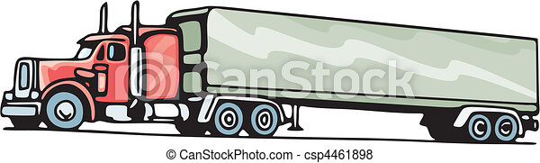 vrachtwagen - csp4461898