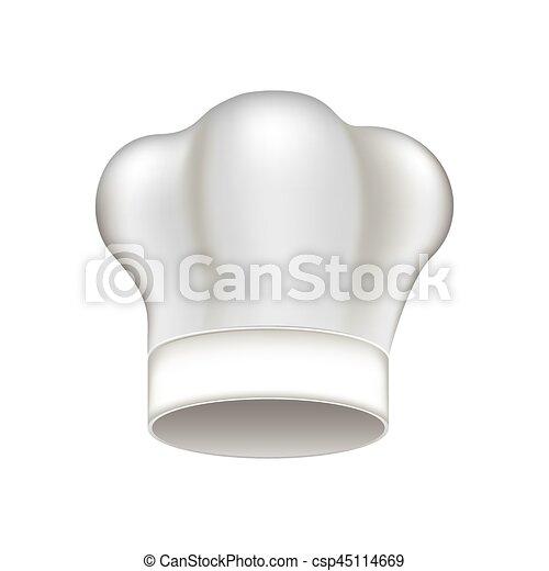 vrchní kuchař, běloba povolání, ikona - csp45114669
