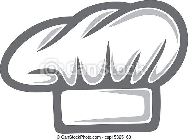 vrchní kuchař, běloba povolání - csp15325160