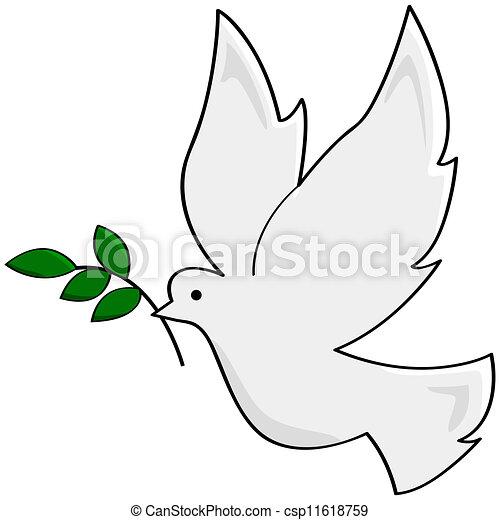 vrede, duif - csp11618759