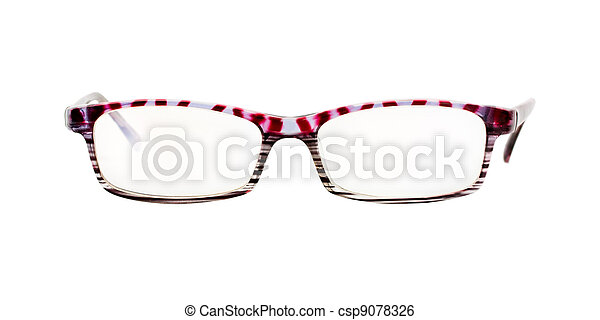 vrijstaand, bril - csp9078326