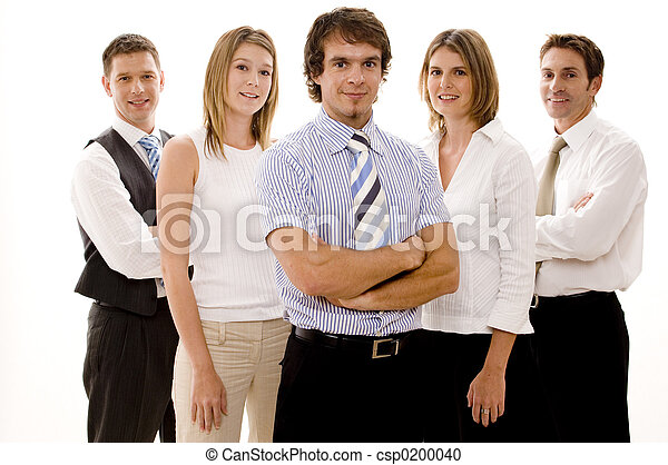 vrolijke , handel team - csp0200040