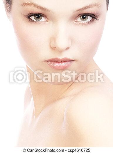 vrouw confronteren - csp4610725