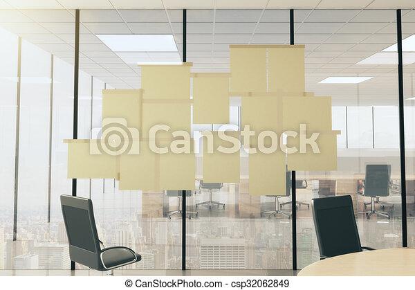 Möbel Leer vtireous möbel buero wand modern auf papier leer