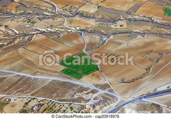 vue aérienne - csp20918976