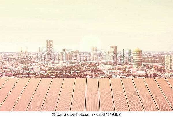 vue, bâtiment. - csp37149302