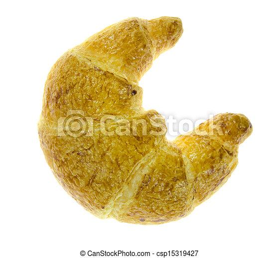 vue dessus, pain - csp15319427