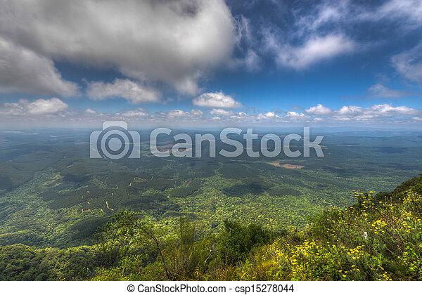 vue, mpumalanga, afrique, sud, merveille - csp15278044