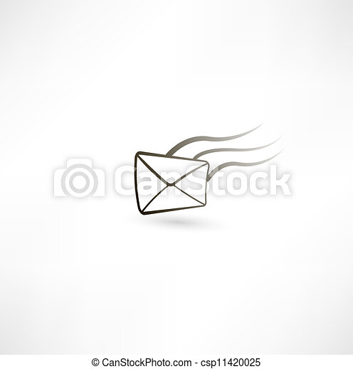 Carta voladora - csp11420025