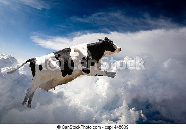 Vaca voladora - csp1448609
