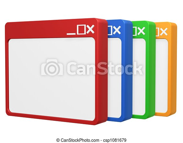 vuoto, 3d, colorito, browser - csp1081679