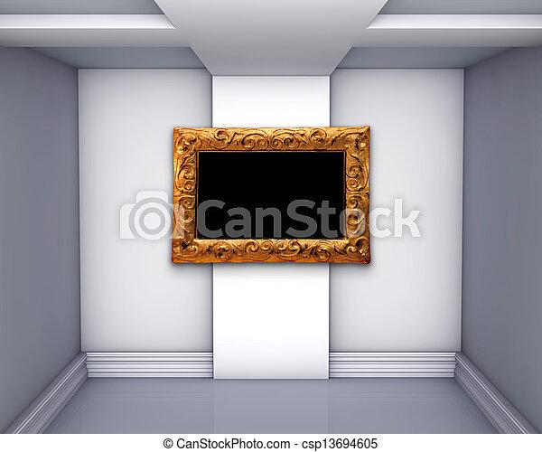 vuoto, galleria - csp13694605