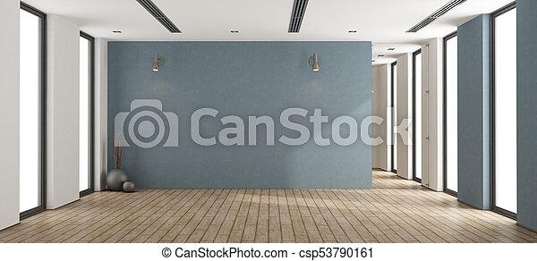 vuoto, interno, minimalista - csp53790161
