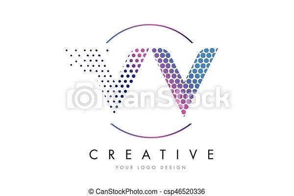 vv-v-pink-magenta-dotted-bubble-letter-eps-vectors_csp46520336 Vv Bubble Letter Template on letter dd template, letter ii template, letter ll template,