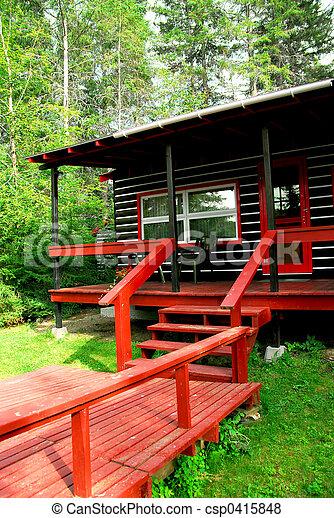 wälder, blockhaus - csp0415848