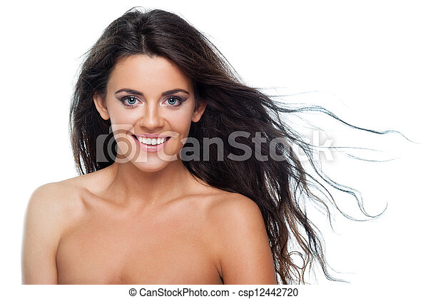 włosy, kędzierzawy - csp12442720