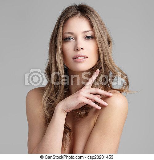 włosy, kędzierzawy - csp20201453