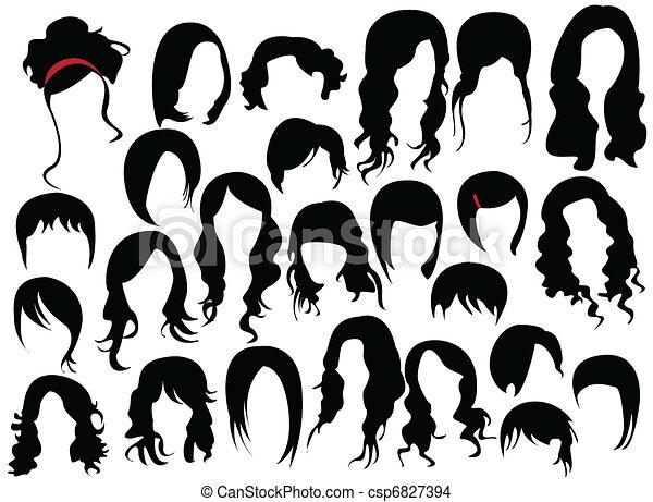 włosy - csp6827394